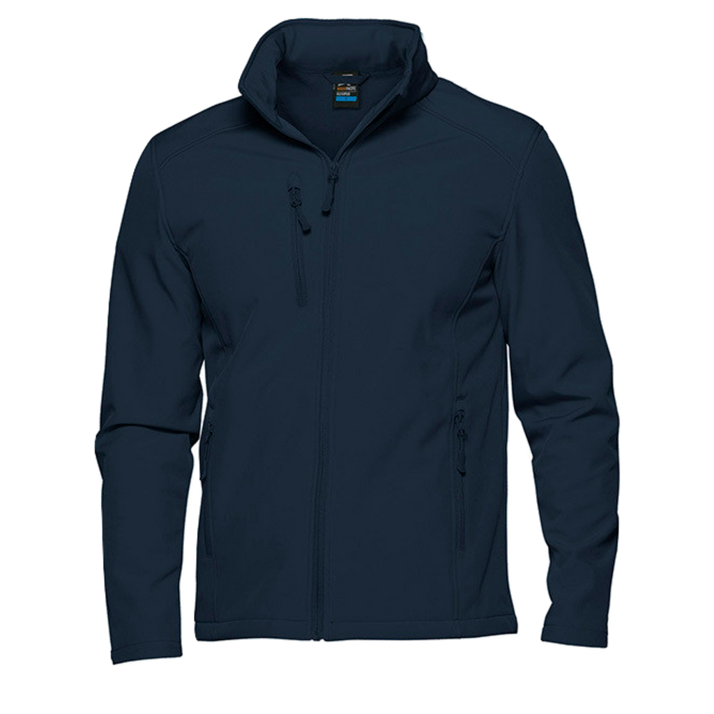 Mens Olympus Softshell Jacket, Colour: Navy