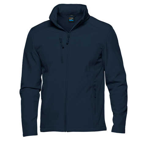Image of Mens Olympus Softshell Jacket, Colour: Navy