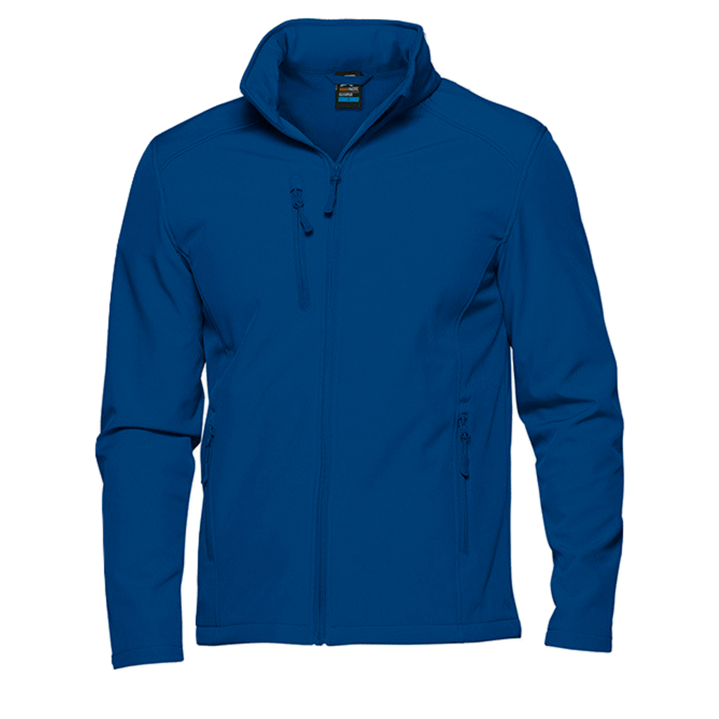 Mens Olympus Softshell Jacket, Colour: Royal