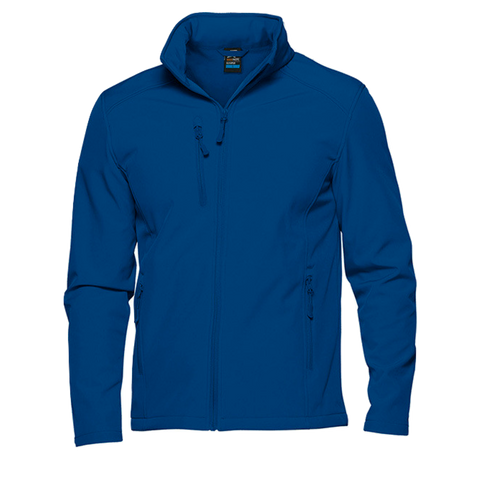 Image of Mens Olympus Softshell Jacket, Colour: Royal