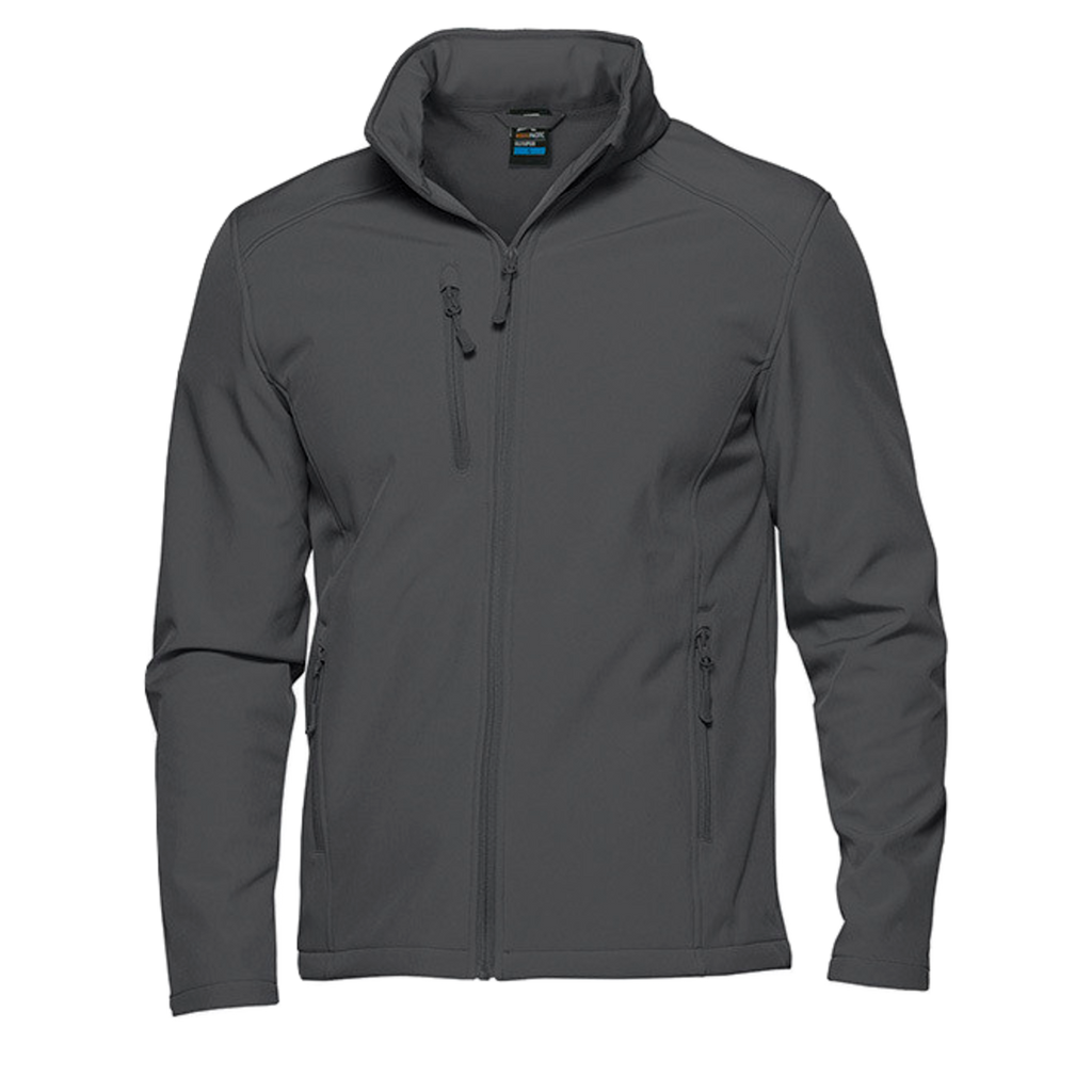 Mens Olympus Softshell Jacket, Colour: Slate