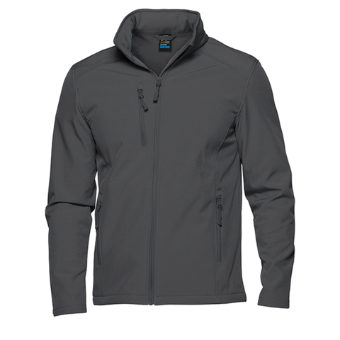 Image of Mens Olympus Softshell Jacket, Colour: Slate