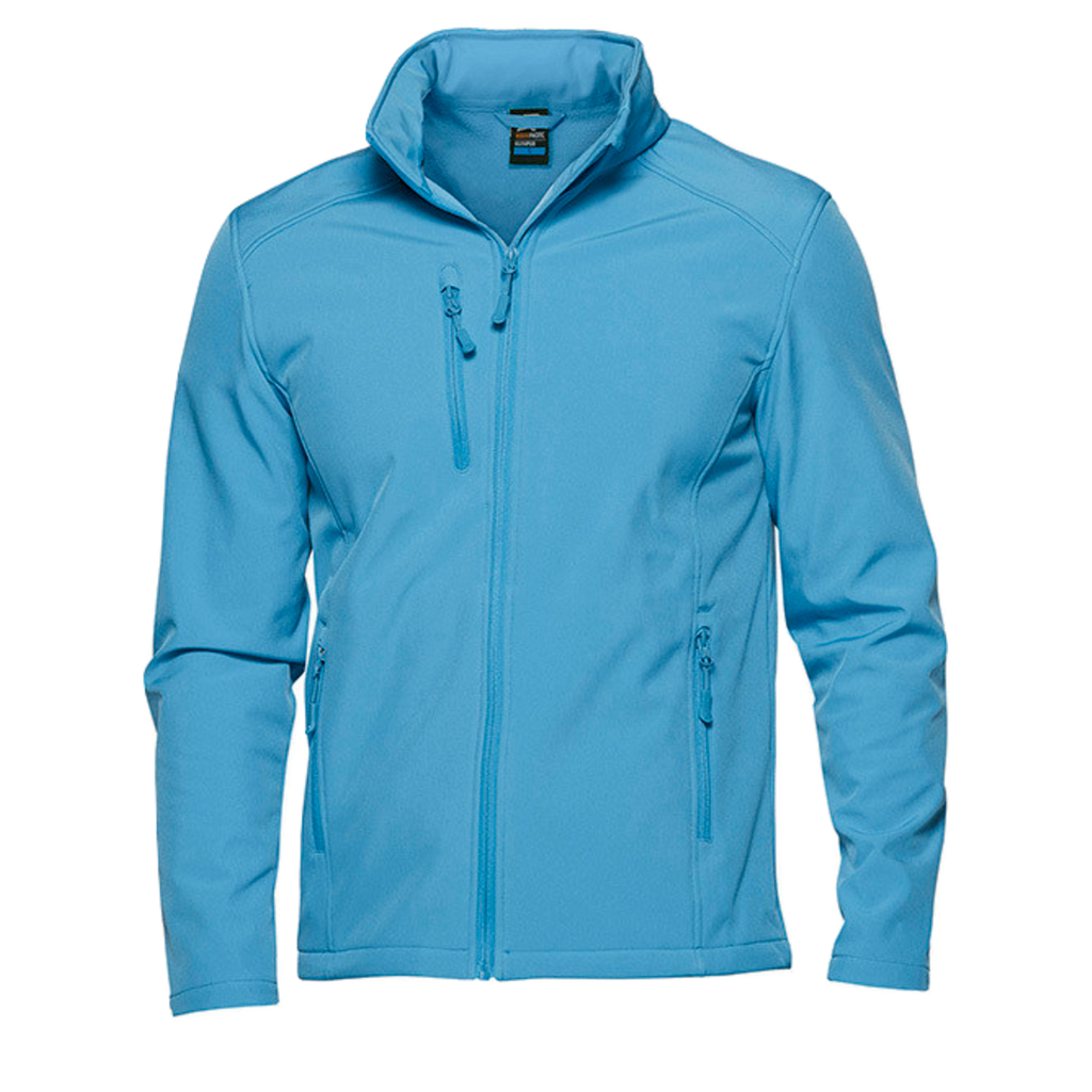 Womens Olympus Softshell Jacket, Colour: Cyan