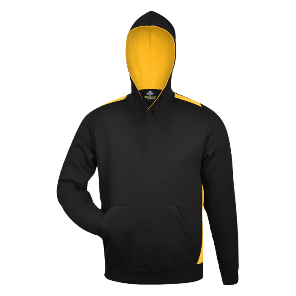 Kids Paterson Hoodie - Colours Black / Gold