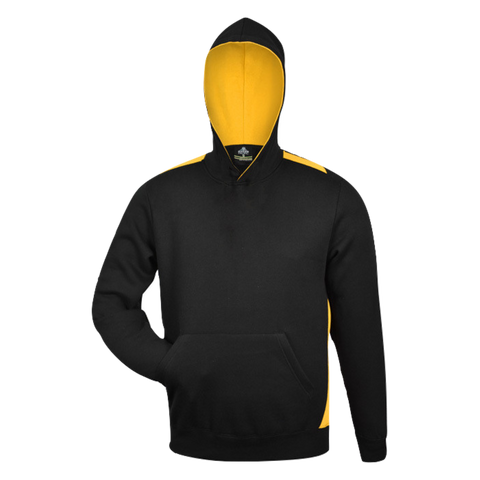 Kids Paterson Hoodie, Colours: Black / Gold