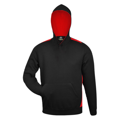 Kids Paterson Hoodie, Colours: Black / Red