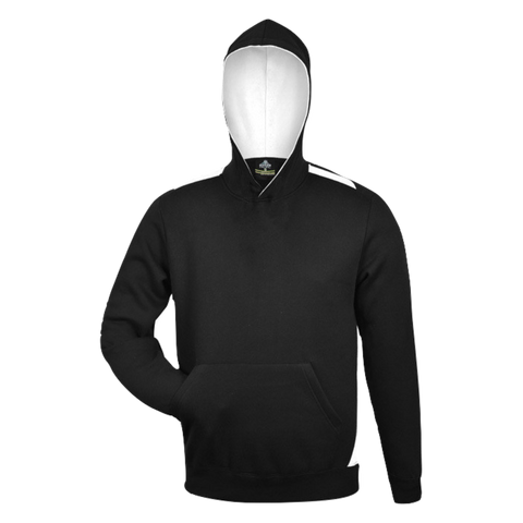 Kids Paterson Hoodie, Colours: Black / White