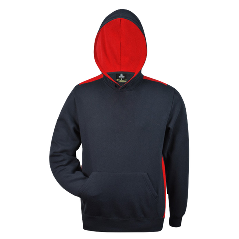 Kids Paterson Hoodie - Colours Navy / Red
