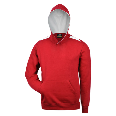 Image of Kids Paterson Hoodie - Colours Red / White