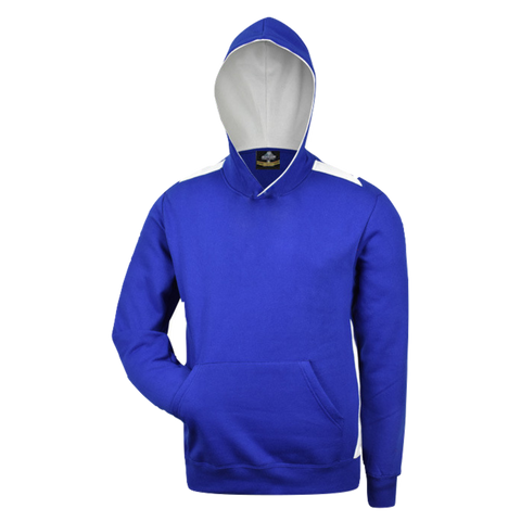 Image of Kids Paterson Hoodie, Colours: Royal / White