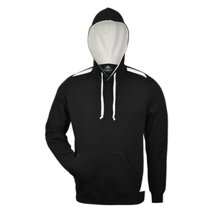 Mens Paterson Hoodie - Colours Black / White