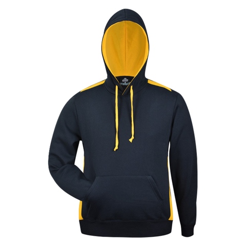 Image of Mens Paterson Hoodie, Colours: Navy / Gold