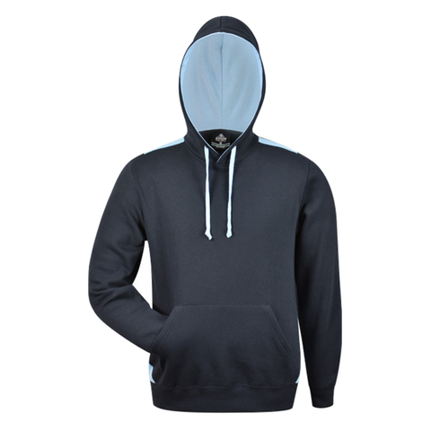 Image of Mens Paterson Hoodie, Colours: Navy / Sky