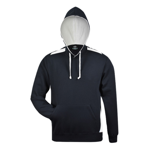 Image of Mens Paterson Hoodie - Colours Navy / White