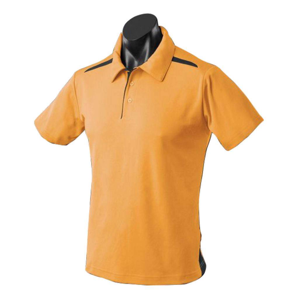 Kids Paterson Polo, Colours: Gold / Black
