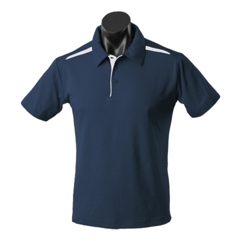 Kids Paterson Polo, Colours: Navy / White