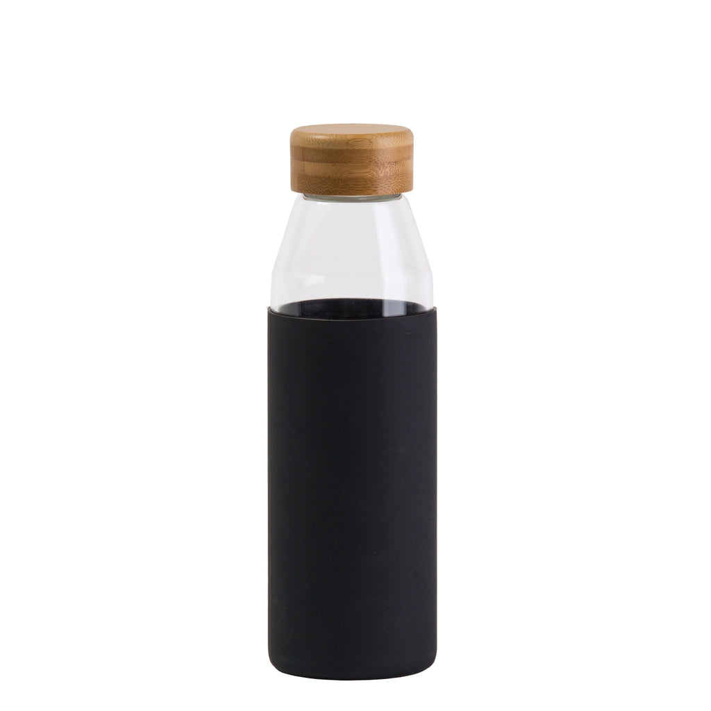 Orbit Glass Bottle, Colour: Black