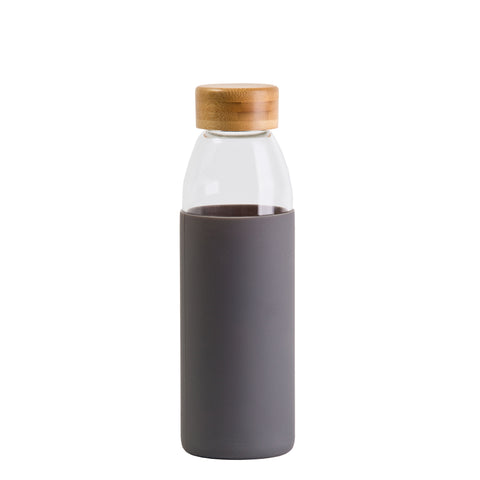 Image of Orbit Glass Bottle, Colour: Grey