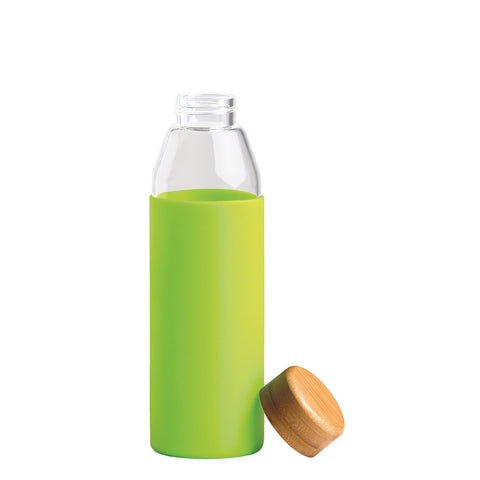 Image of Orbit Glass Bottle, Colour: Lime Green