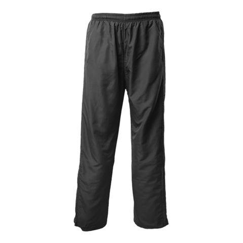 Adults Pongee Trackpant, Colour: Black
