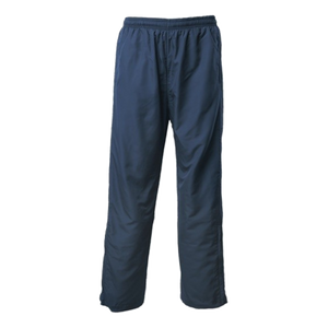 Adults Pongee Trackpant, Colour: Navy