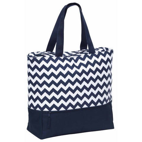 Oasis Cooler Tote, Colour: Navy/White