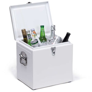 Vintage Cooler Box - Colour White