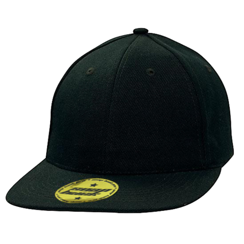 Premium American Twill with Snap Back Pro Styling Fit, Colour: Navy