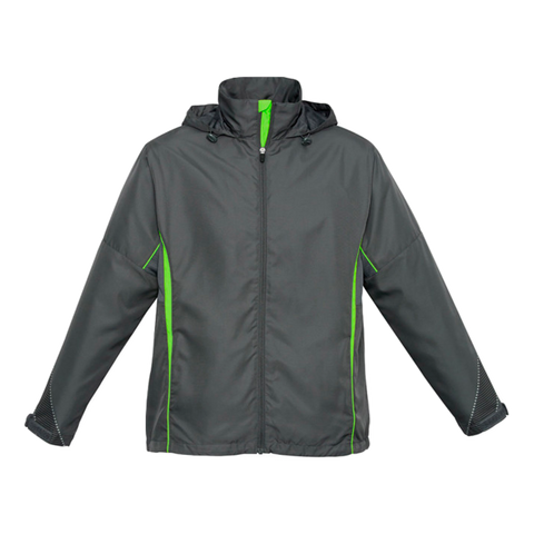 Adults Razor Jacket - Colours Grey / Fl Lime