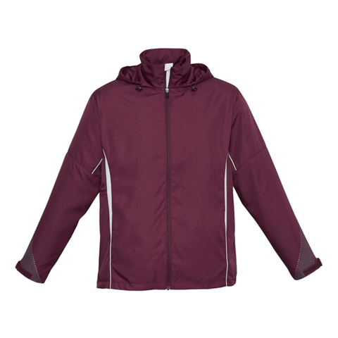 Adults Razor Jacket - Colours Maroon / White