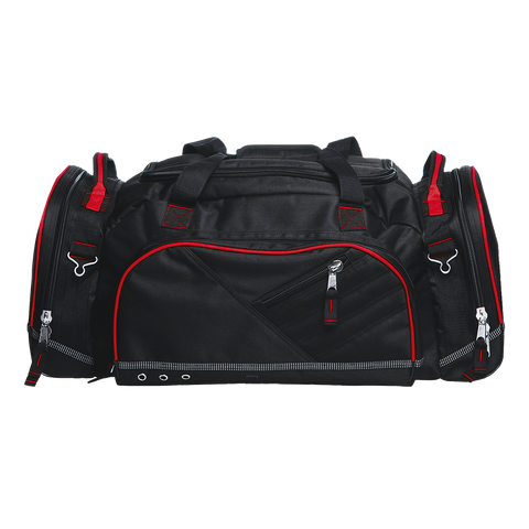 Recon Sports Bag, Colours: Black / Black / Red