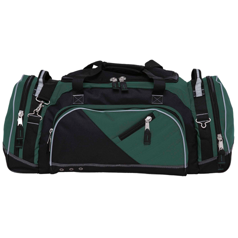 Recon Sports Bag, Colours: Green / Black / Reflective