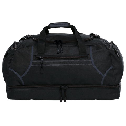 Image of Reflex Sports Bag - Colours Black / Charcoal