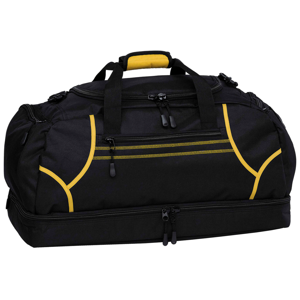 Reflex Sports Bag, Colours: Black / Gold