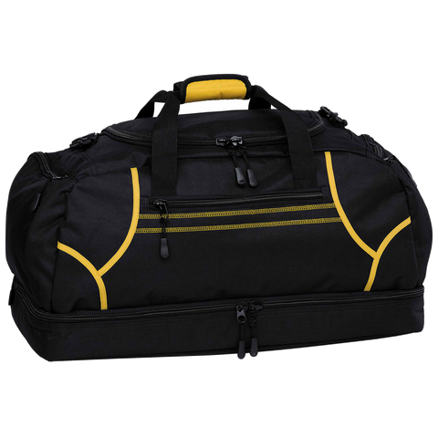Image of Reflex Sports Bag - Colours Black / Gold