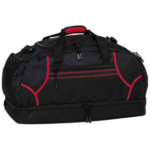 Image of Reflex Sports Bag, Colours: Black / Red