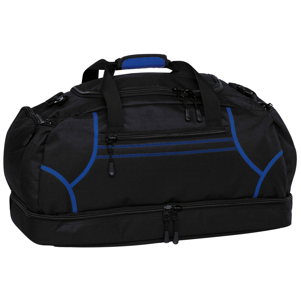 Reflex Sports Bag, Colours: Black / Royal