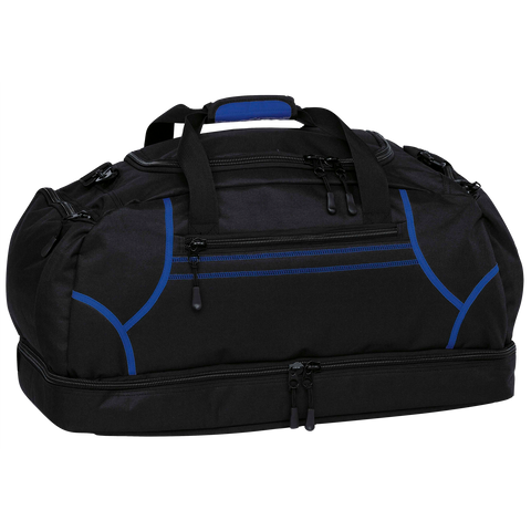 Image of Reflex Sports Bag, Colours: Black / Royal