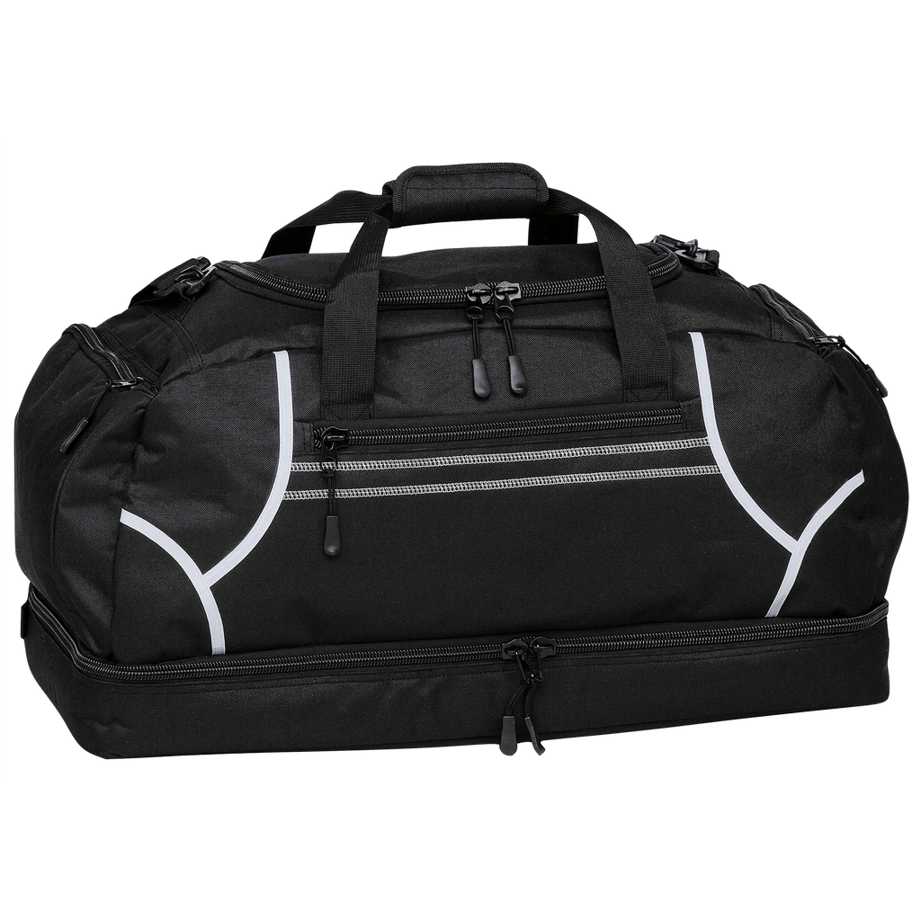 Reflex Sports Bag, Colours: Black / White