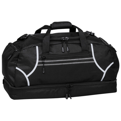 Image of Reflex Sports Bag, Colours: Black / White