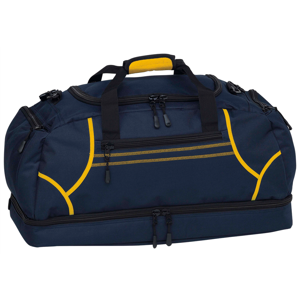 Reflex Sports Bag, Colours: Navy / Gold