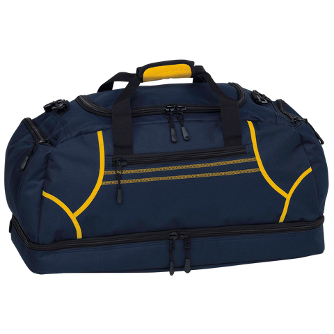 Image of Reflex Sports Bag, Colours: Navy / Gold