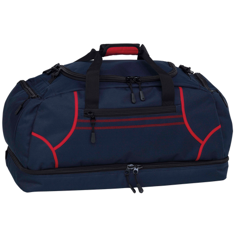 Image of Reflex Sports Bag, Colours: Navy / Red