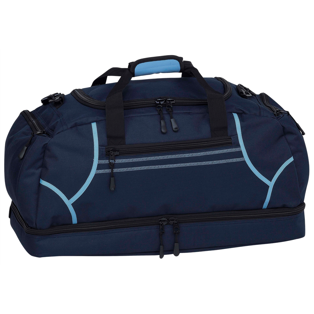 Reflex Sports Bag, Colours: Navy / Sky