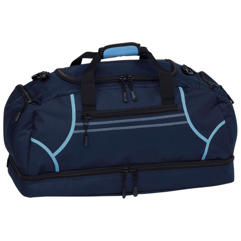 Image of Reflex Sports Bag, Colours: Navy / Sky