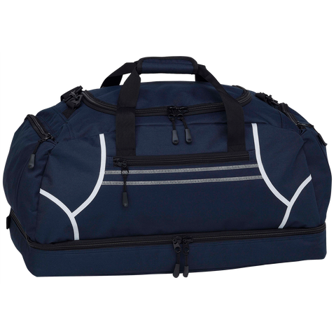 Image of Reflex Sports Bag - Colours Navy / White