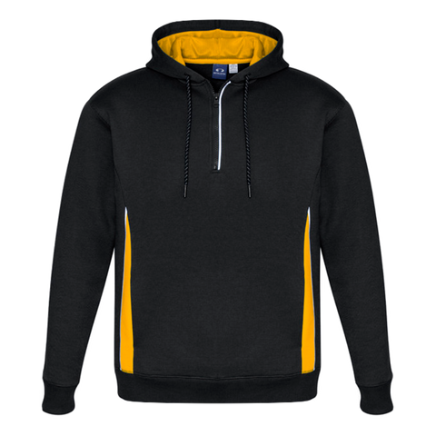 Adults Renegade Hoodie, Colours: Black / Gold / Silver