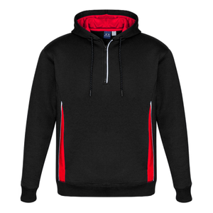 Adults Renegade Hoodie, Colours: Black / Red / Silver