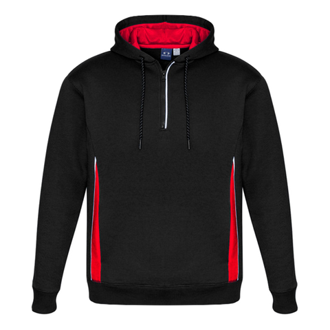 Image of Adults Renegade Hoodie, Colours: Black / Red / Silver