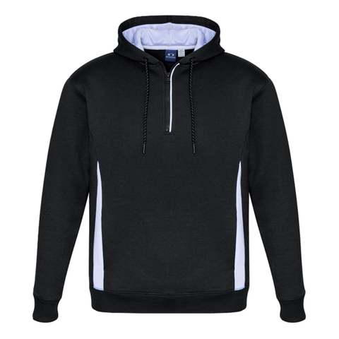 Adults Renegade Hoodie, Colours: Black / White / Silver